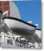 Lifeboat On Queen Mary Metal Print