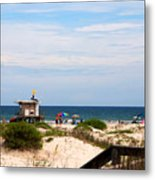 Lifeguard On Duty Metal Print