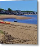 Life's A Beach In Provincetown Cape Cod Metal Print