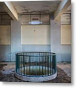 Light Above The Well  Metal Print