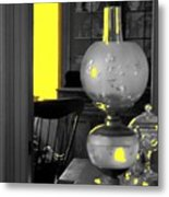 Light Among The Antiques Metal Print