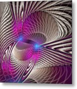 Light And Lines Metal Print
