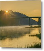 Light And Mist Metal Print
