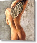 Light And Nudity Metal Print