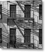 Light And Shadow On First Avenue Metal Print