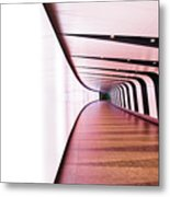 Light At End Of Tunnel Metal Print
