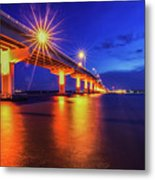 Light Bridge Metal Print