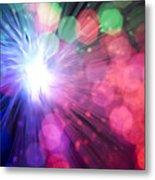 Light Burst-5 Metal Print