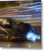 Light Car   Carrosse De Lumiere Metal Print