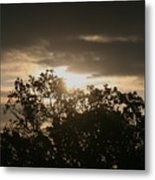 Light Chasing Away The Darkness Metal Print