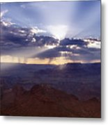 Light Explosion Metal Print