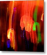 Light Falling Metal Print