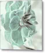 Light Green Blossom Metal Print