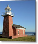 Light House At Santa Cruz Metal Print