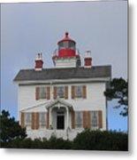 Light House On The Oregon Coast Metal Print