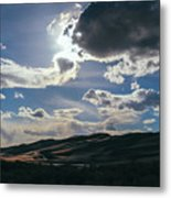 Light In The Distance Metal Print