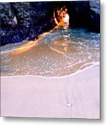 Light In The Hole Metal Print