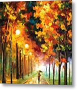 Light Of Autumn Metal Print