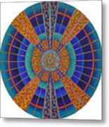 Light Of Knowing Metal Print