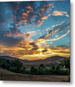 Light Over Hollenbeck Metal Print