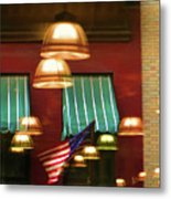 Light Reflection Nyc Canopy  Metal Print