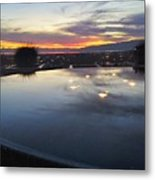 Light Reflections Metal Print