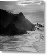 Light Rocks Metal Print