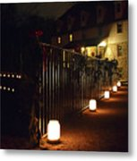 Light The Way Home For The Holidays Metal Print