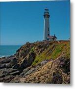 Light Tower Panoramic Metal Print