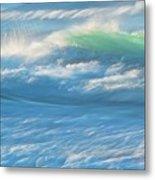 Light Wave at Asilomar, Pacific Grove, California Metal Print