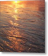 Light Waves Metal Print