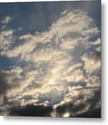 Lighted Sky Metal Print