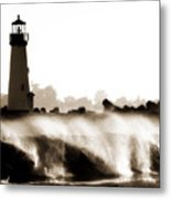 Lighthouse 3 Dreamy Metal Print