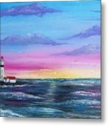 Lighthouse  5 Metal Print