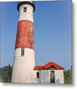 Lighthouse And Entry Metal Print