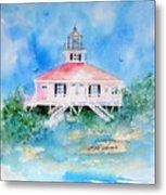 Lighthouse At Boca Grand Island Fl Metal Print