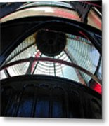 Lighthouse At Cape Meares Metal Print