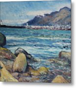 Lighthouse At Kalk Bay Cape Town South Africa 2016 Metal Print