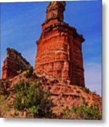 Lighthouse At Palo Duro Canyon Metal Print