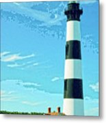 Lighthouse Bodie Island Metal Print