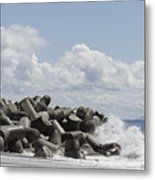 Lighthouse By The Bay Metal Print