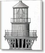 Lighthouse Detail Metal Print