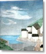 Lighthouse Harbour 2  Metal Print