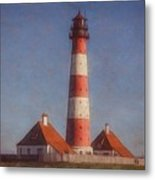 Lighthouse - Id 16217-152035-5938 Metal Print