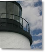 Lighthouse In The Sky Metal Print