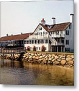 Lighthouse Inn At Bass River Metal Print