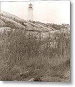 Lighthouse Nova Scotia Metal Print