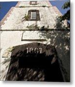 Lighthouse On Point Venus Metal Print