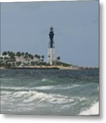 Lighthouse Point Fl. Metal Print