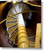 Lighthouse Stairway Metal Print
